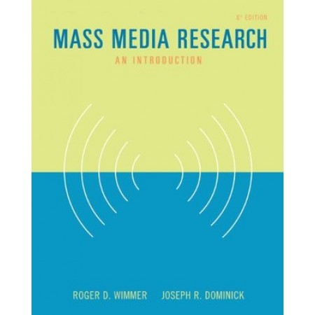 Mass Media Research : An Introduction, 8th Edition