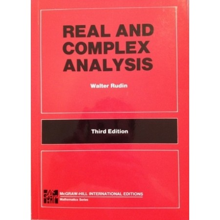 Real and Complex Analysis, 3rd Edition