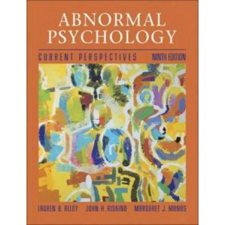 Abnormal Psychology: Current Perspectives, 9th Edition