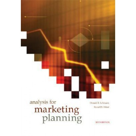 Analysis for Marketing Planning, 6th Edition