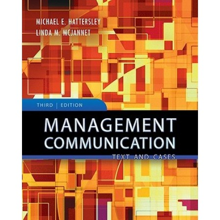 Management Communication: Principles and Practice, 3rd Edition