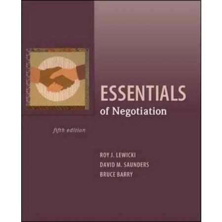 Essentials of Negotiation, 5th Edition