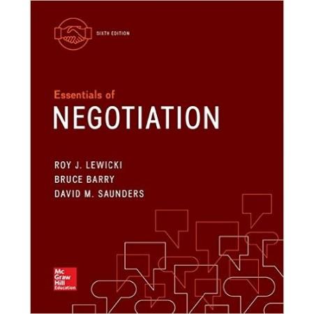 Essentials of Negotiation, 6th Edition