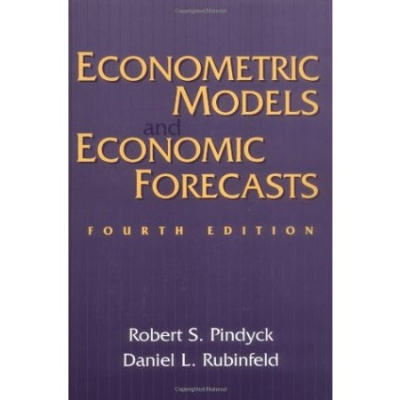Econometric Models and Economic Forecasts, 4th Edition