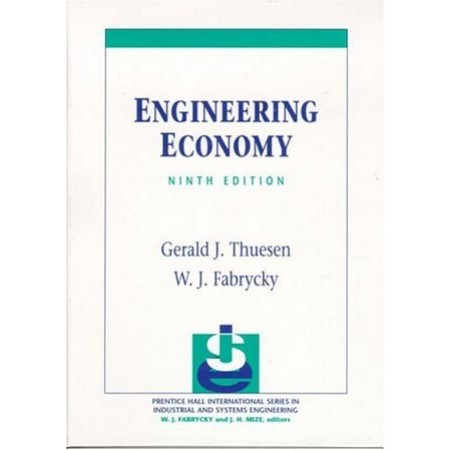 Engineering Economy, 9th Edition