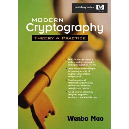 Modern Cryptography: Theory and Practice, 1st Edition