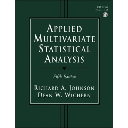 Applied Multivariate Statistical Analysis, 5th Edition