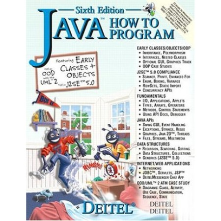 Java How to Program (Deitel), 6th Edition (Include CD-Rom)