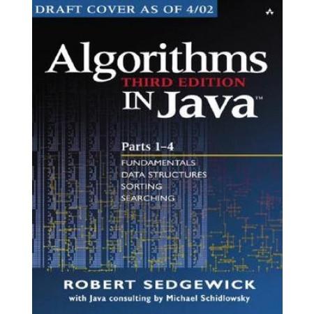 Algorithms in Java, Third Edition (Parts 1-4)