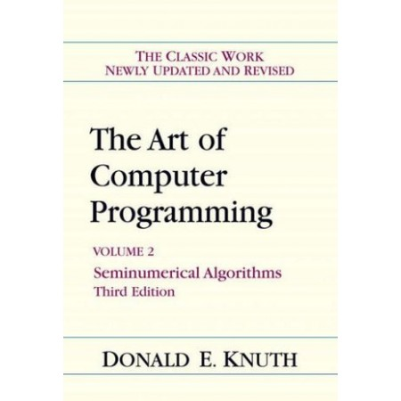The Art of Computer Programming, Volume 2: Seminumerical Algorithms, 3rd Edition (Hardcover)
