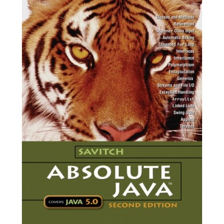 Absolute Java, 2nd Edition (with CD-Rom)