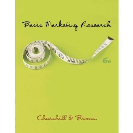 Basic Marketing Research, 6th Edition