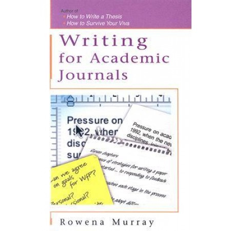 Writing for Academic Journals, 1st Edition