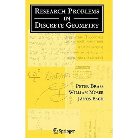 Research Problems in Discrete Geometry (Hardcover)