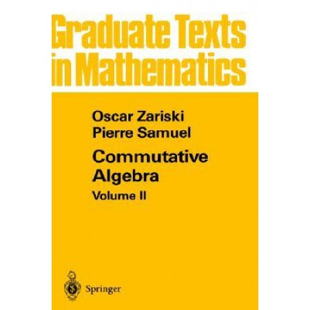Commutative Algebra Vol II, 1st Edition
