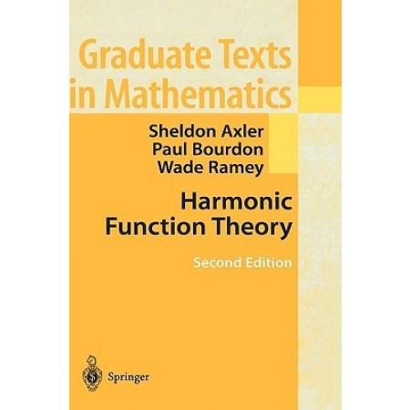 Harmonic Function Theory, 2nd Edition