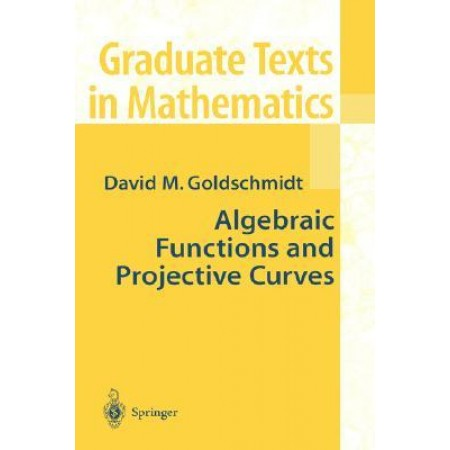 Algebraic Functions and Projective Curves, 1st Edition