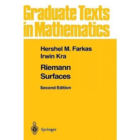 Riemann Surfaces, 2nd Edition