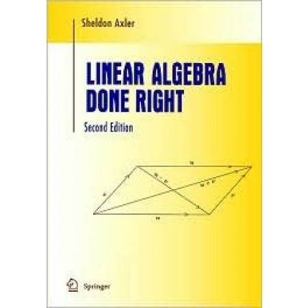Linear Algebra Done Right, 2nd Edition