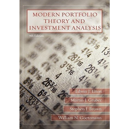 Modern Portfolio Theory and Investment Analysis, 7th Edition