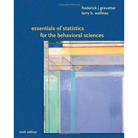 Essentials of Statistics for the Behavioral Sciences, 6th Edition