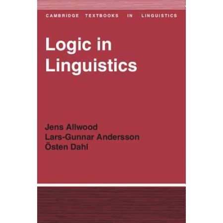 Logic in Linguistics