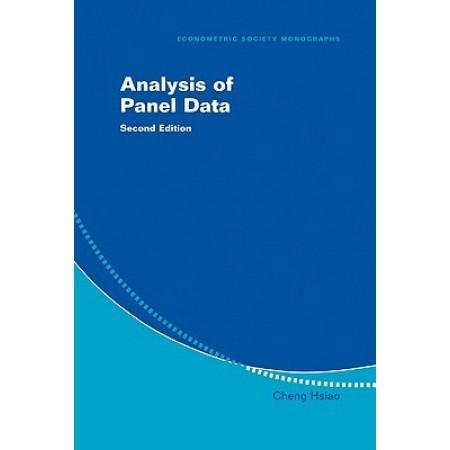 Analysis of Panel Data