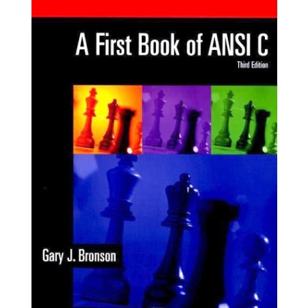 A First Book of ANSI C, 3rd Edition