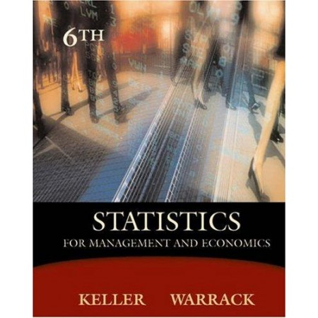 Statistics for Management and Economics, 6th Edition