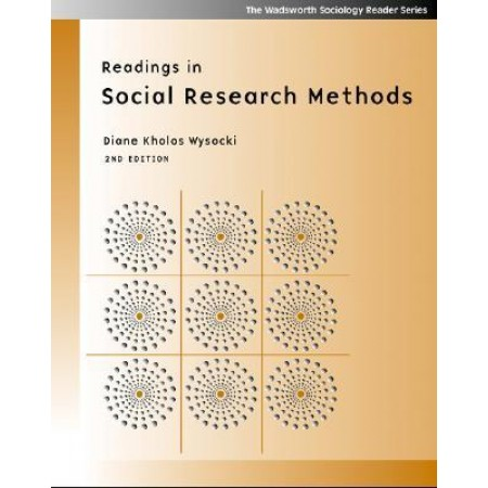 Readings In Social Research Methods, 2nd Edition