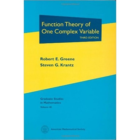 Function Theory of One Complex Variable, 3rd Edition