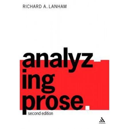 Analyzing Prose, 2nd Edition