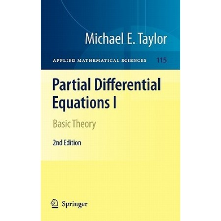 Partial Differential Equations I: Basic Theory, 2nd Edition