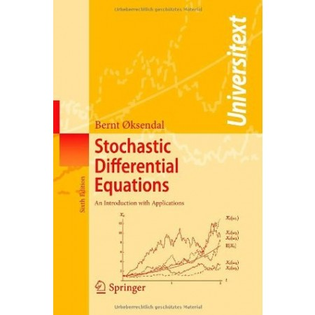 Stochastic Differential Equations : An Introduction with Applications, 6th Edition