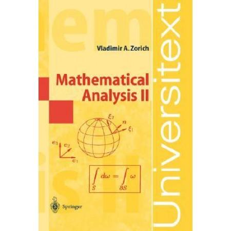 Mathematical Analysis II, 1st Edition