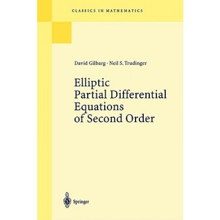 Elliptic Partial Differential Equations of Second Order, 1st Edition