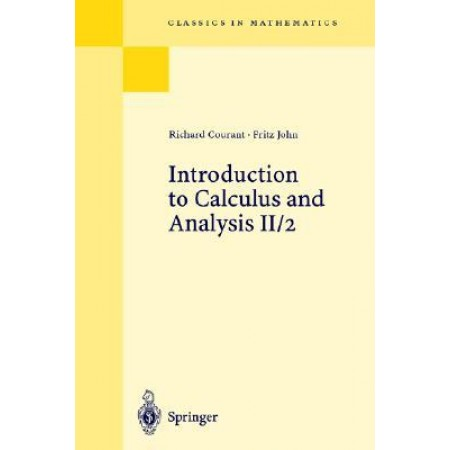 Introduction to Calculus and Analysis: Volume II/2 Chapter 5-8