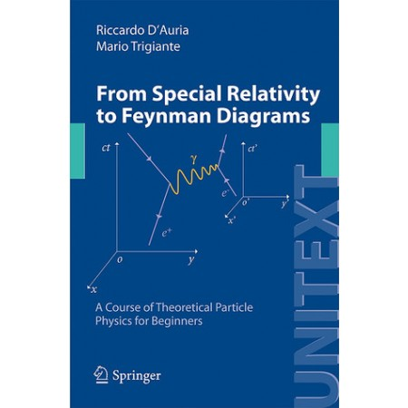 From Special Relativity to Feynman Diagrams: A Course of Theoretical Particle Physics for Beginners