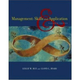 Management: Skills and Application, 11th Edition