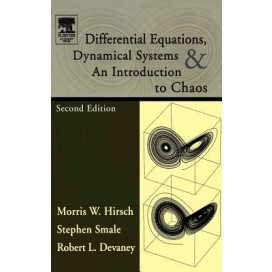 Differential Equations, Dynamical Systems, and an Introduction to Chaos (Pure and Applied Mathematics) (Academic Press)
