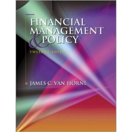 Financial Management and Policy, 12th Edition