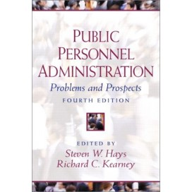 Public Personnel Administration: Problems and Prospects, 4th Edition
