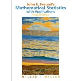 John E. Freund's Mathematical Statistics with Applications, 7th Edition