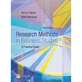 Research Methods in Business Studies: A Practical Guide, 3rd Edition