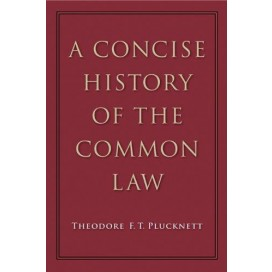 A concise history of the common law, 5th Edition