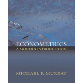 Econometrics: A Modern Introduction (Addison-Wesley Series in Economics), 1st Edition