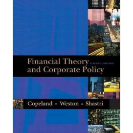 Financial Theory and Corporate Policy, 4th Edition