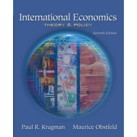 International Economics: Theory And Policy, 7th Edition