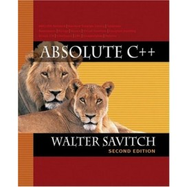 Absolute C++, 2nd Edition
