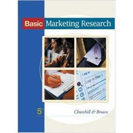 Basic Marketing Research, 5th Edition